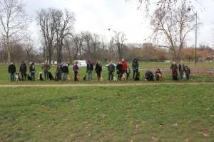 éducation canine dans le Bois de Vincennes